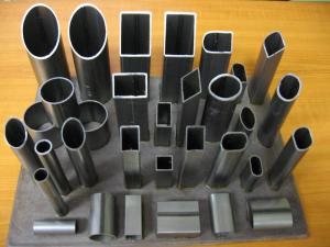 Galvanaized steel pipes.
