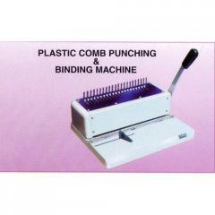 Plastic Comb Punching And Binding Machine