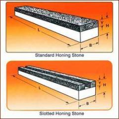 Standard & Slotted Honing Stones