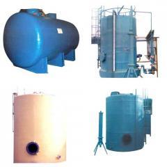 PP - FRP Storage Tanks