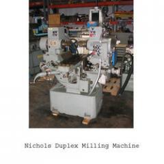 Nichols Duplex Milling Machine