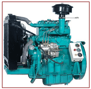 High Speed Water Cooled Three/Four Cylinder