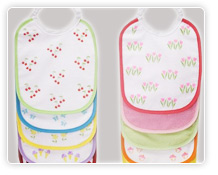 Cotton Neck Bibs
