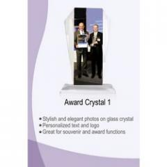 Award Crystal for Corporate