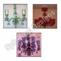 Glass hangings