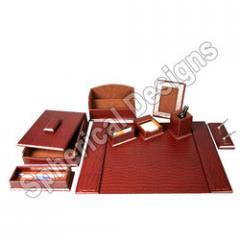 Leather Desktop Range