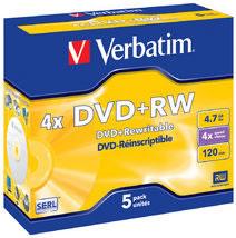 DVD+RW 4.7GB