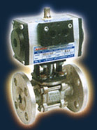 ISO Pneumatic Actuator with Ball Valve