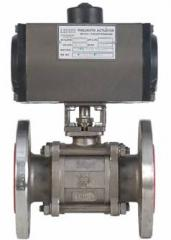 "Pneumatic Rotary Actuator ""Fire Safe"" 3PC Ball"