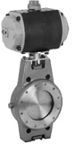 2-Way Tight Shut Off Butterfly Valves with Quarter
