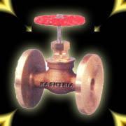 Bronze Globe Steam Stop Valve