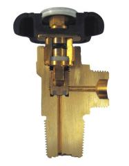 Wheel operated valves