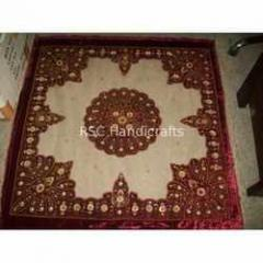 Flower Design Velvet Table Covers