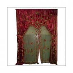 Red Designer Curtains