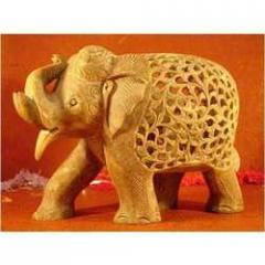 Soap Stone Elephants