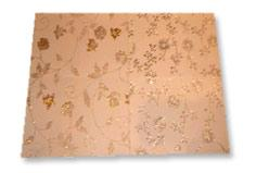 Flocked With Glitter Gift Wrap