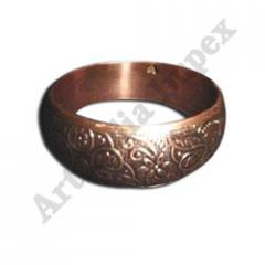 Womens Copper Plated Brass Bangle