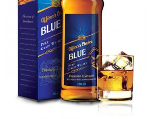 Whisky - Officer's Choice Blue