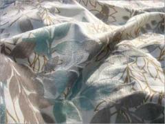 Flock Print for Garments Home Linen