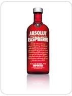 Vodka - ABSOLUT raspberri