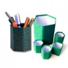Handmade Paper Pen Stands