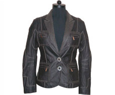 Ladies Leather Coat Jackets