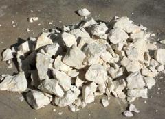 Глыбы фарфоровой глины