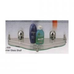 Corner Glass Shelf (Global Collection)