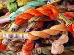 Embroidary thread