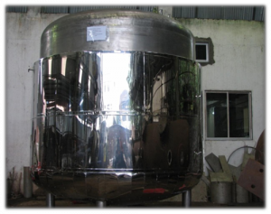 WFI Water Storage Tank With Jacket