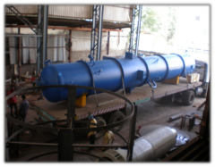 Oil Deaerator And Exchanger