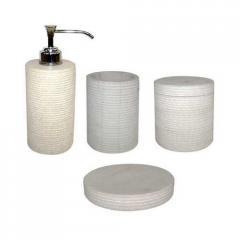Sand Stone Bathroom Set