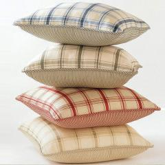 Cotton Check Cushion Covers