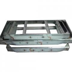 SS Frame 2/3/4 Burner for Glass Table