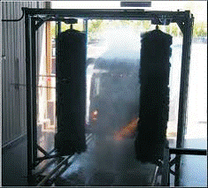 2 Brush Drive Through Bus Wash System NWS-2DT