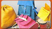 Jute Back Packs - Smart and Sturdy