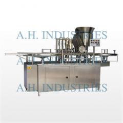 Automatic Vial Filling & Rubber Stoppring