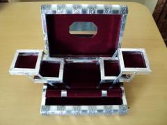 Metal Jewellery Boxes