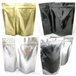 Stock and Plain Stand Up Pouches