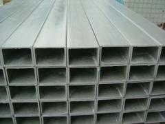 Galvanized tubes