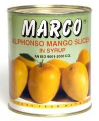Alphonso Mango Slices