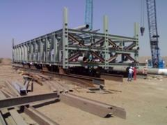 Prefabrication Of Pipe Bridge