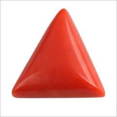 Red Coral Triangular