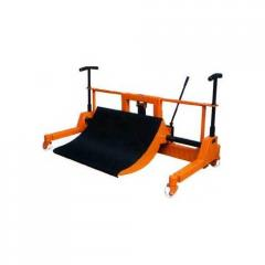 Cradle Type Cloth Roll Doffing Trolley