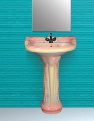 Wash Basin Pedestal