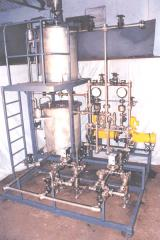 Hydrazine dosing system for boiler