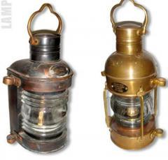 Metal Oil Lamps