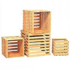 Pine Wood Crate