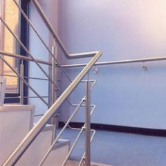 Steel Rod Stair Case