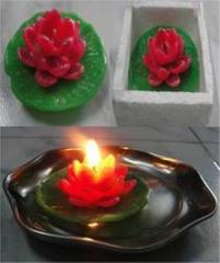 Small Lotus Candles